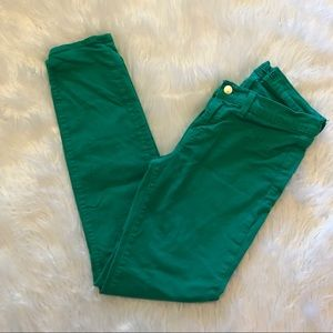 J Brand Emerald Green Jeans Womens Size 27